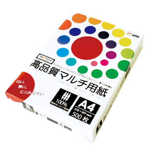 【まとめ買い10個セット品】 高品質マルチコピー用紙 A4 500枚 【メイチョー】