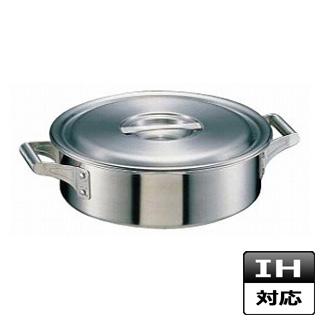【 業務用 】【 外輪鍋 】 18-10 ステンレス ロイヤル 外輪鍋 XSD-420 IH対応 IH鍋