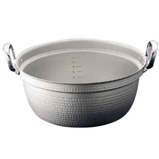 【まとめ買い10個セット品】【 業務用 】マイスター アルミ極厚円付鍋[目盛付]27cm