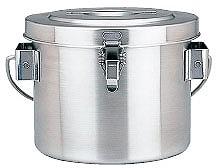 【 業務用 】【 コンテナ 】 18-8真空断熱容器[シャトルドラム] GBC-04