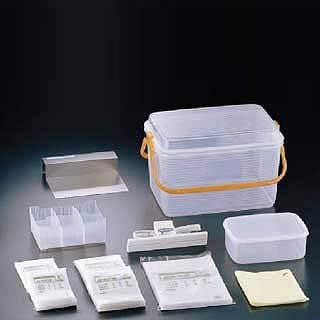【 業務用 】【 検食容器 】 密封式検食袋基本セット HXS-010 【 メーカー直送/代金引換決済不可 】