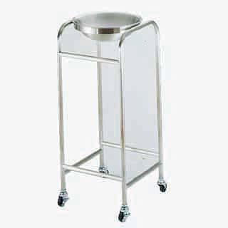 【 業務用 】【 洗面器 】 洗面器台 SAIKD18-8抗菌ハンドウォッシャー スタンド KFK-88