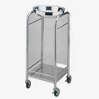 【 業務用 】【 洗面器 】 洗面器台 SA18-8ハンドウォッシャースタンド KF-80