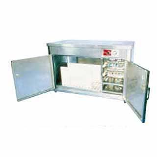 【 業務用 】テーブル型庖丁・まな板殺菌庫 HES-1200 【 メーカー直送/代金引換決済不可 】
