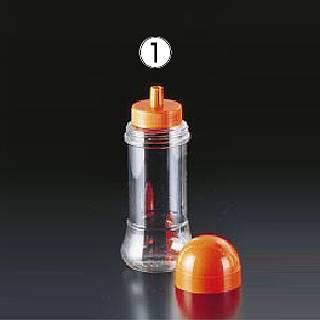 【まとめ買い10個セット品】【 業務用 】【 調味料入れ 】食品ボトル FB-200 オレンジ[12ヶ入]