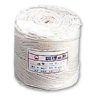 【まとめ買い10個セット品】【 業務用 】綿 調理用糸[玉型バインダー巻360g]10号