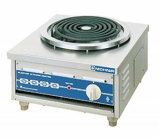 【 業務用 】卓上タイプ 電気ローレンジ[電気コンロ] ELR-4 【 メーカー直送/代金引換決済不可 】