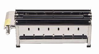 【 業務用 】無煙式やきとり器 KE-S LPガス【 メーカー直送/代金引換決済不可 】