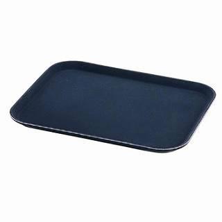 【まとめ買い10個セット品】キャンブロ 角型ノンスリップトレー 1622CT-BL ブラック
