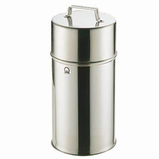 【まとめ買い10個セット品】SA18-8 茶缶 18cm 8L(大)【 茶缶 お茶用品 】 【厨房館】
