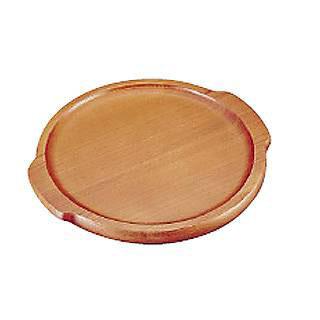 【まとめ買い10個セット品】【 業務用 】【 木製ピザ皿 】木製ピザボード[セン材] P-350
