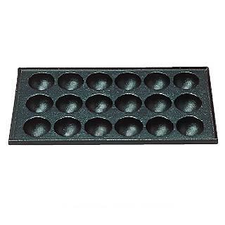 【まとめ買い10個セット品】【 業務用 】S たこ焼用鉄板 18穴 大たこ焼