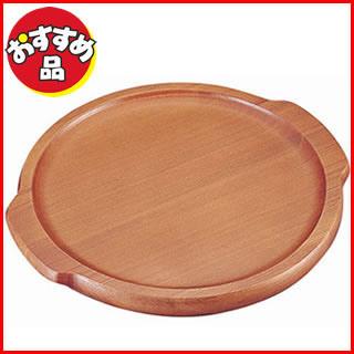 【まとめ買い10個セット品】【 業務用 】【 木製ピザ皿 】木製ピザボード[セン材] P-260