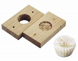 『物相型 和菓子 お菓子作り』手彫物相型[上生菓子用] 撫子【厨房館】
