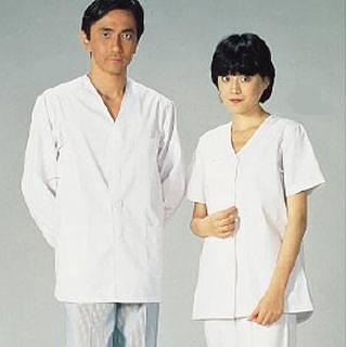 【まとめ買い10個セット品】女性用調理衣 半袖 FA-332 3L