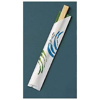 『お弁当 割りばし』割箸 業務用 袋入 細波 白樺小判 20.5cm [1ケース100膳×40入]【厨房館】