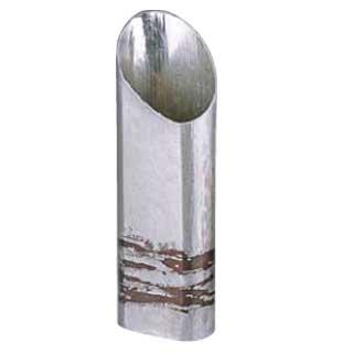 【 業務用 】銅錫被 刷毛目篇筒ストレート酒器 SG007 360cc