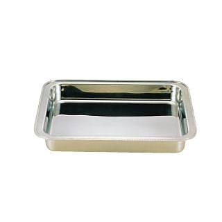 【 業務用 】UK18-8ユニット角湯煎用 ウォーターパン 28インチ