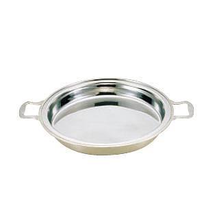 【 業務用 】UK18-8ユニット丸湯煎用 フードパン 深型 14インチ