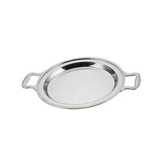 【 業務用 】UK18-8ユニット丸湯煎用 フードパン 浅型 14インチ