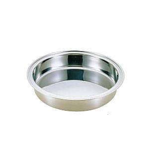 【 業務用 】UK18-8ユニット丸湯煎用 ウォーターパン 14インチ