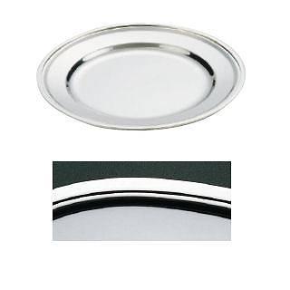 【まとめ買い10個セット品】【 業務用 】IKD18-8平渕丸皿 18インチ