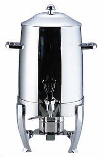 【 業務用 】UK18-8コーヒーアーン 10501[固形用ランプ付] 【 業務用