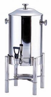 【 業務用 】UK18-8コーヒーアーン[固形ランプ付] 【 業務用