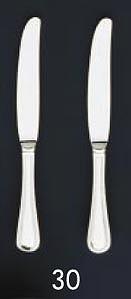 【まとめ買い10個セット品】【 業務用 】SA18-12リゾン銀仕様 テーブルナイフ[刃付][カトラリー]