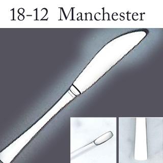 【まとめ買い10個セット品】【 業務用 】18-12マンチェスター テーブルナイフ[刃無][カトラリー]