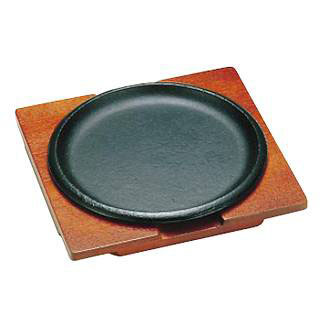 【まとめ買い10個セット品】トキワステーキ皿 317 丸浅型 IH対応【厨房館】