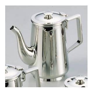 【 業務用 】SW18-8C型コーヒーポット 5人用 【 コーヒー ティー用品ステンレスコーヒーポットテーブルウェア卓上用品卓上品 】