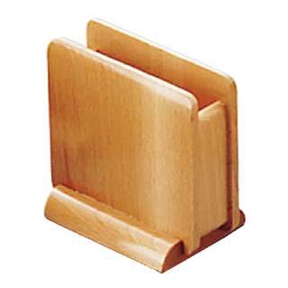 【まとめ買い10個セット品】【 業務用 】木製 ナフキン立 15221 [ナチュラル]