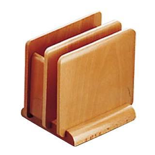 【まとめ買い10個セット品】【 業務用 】木製 ナフキン&メニュースタンド 15222ナチュラル【 フキンスタンドナフキン立て 】