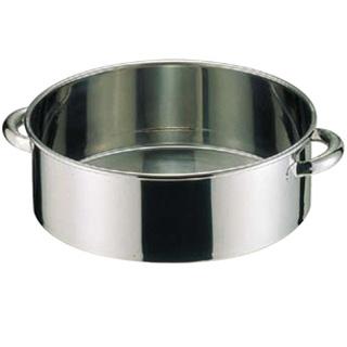 【 業務用 】SA18-8手付洗桶 55cm