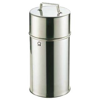 【まとめ買い10個セット品】SA18-8 茶缶 12cm 2.5L【 茶缶 お茶用品 】 【厨房館】