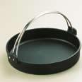 【まとめ買い10個セット品】【 業務用 】トキワ 鉄すきやき鍋 黒ツル付24cm