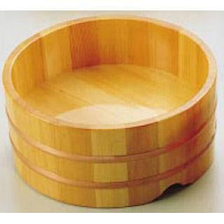 【まとめ買い10個セット品】【 業務用 】サワラ ウドン桶 7寸