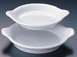【 業務用 】【 ロイヤル グラタン皿 ホワイト PB605-18 】