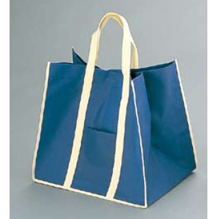 【まとめ買い10個セット品】【 業務用 】ファインビュー 不織布バッグ(10枚入)中ネイビー