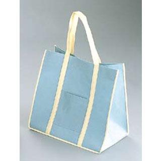 【まとめ買い10個セット品】ファインビュー 不織布バッグ(10枚入) 大 アッシュグレー【 手さげ袋 】 【厨房館】