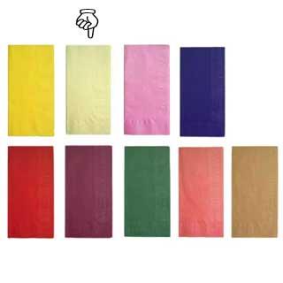 【 業務用 】カラーナプキン 8ッ折[2,000枚入] 45cm 2P クリーム 【 業務用