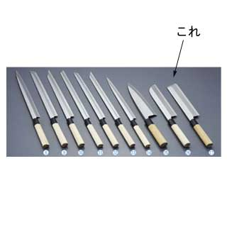 【 業務用 】堺實光 上作 薄刃[片刃]19.5cm 17513