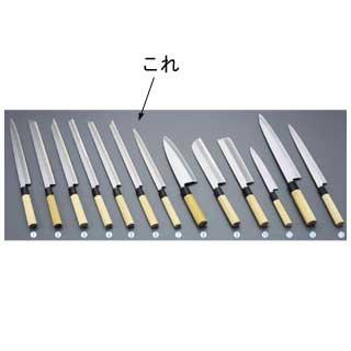 【 業務用 】堺實光 匠練銀三 ふぐ引[片刃]30cm 37560