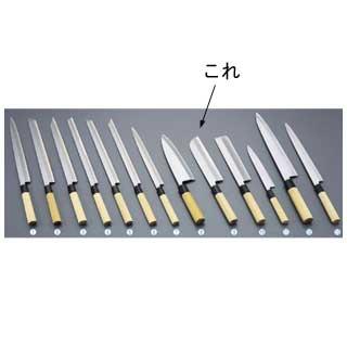 【 業務用 】堺實光 匠練銀三 鎌薄刃[片刃]22.5cm 37506