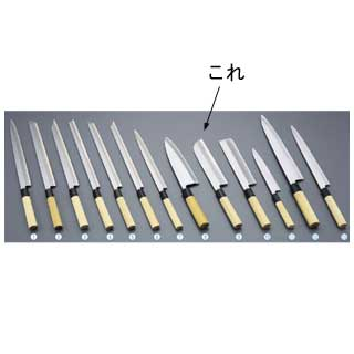 【 業務用 】堺實光 匠練銀三 鎌薄刃[片刃]24cm 37507