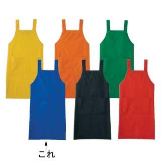 【まとめ買い10個セット品】【 業務用 】エプロン A-1767 L(ブルー)