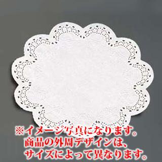 【まとめ買い10個セット品】『レースペーパー 』 レースペーパー丸型[500枚入] 8号【厨房館】