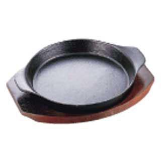 【まとめ買い10個セット品】【 業務用 】イシガキ ステーキ皿 深型丸06-2020cm