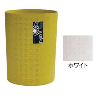 【まとめ買い10個セット品】コイキ モダン 丸型(小) 4.5L (WH)ホワイト